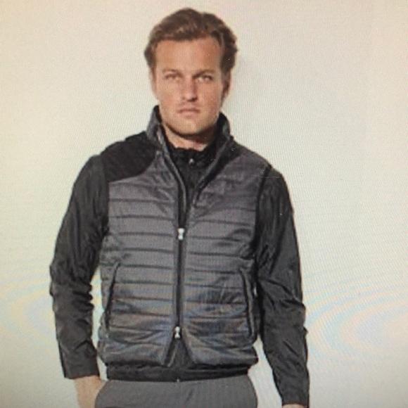 Men's Gray RLX Golf Valor Quilted Vest